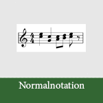 Normal-Notation