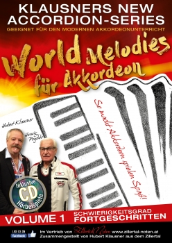WORLD MELODIES - FORTGESCHRITTEN - VOL. 1
